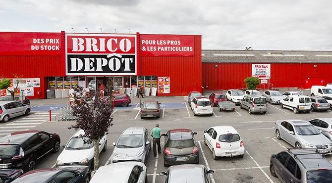 Comment commander au drive Brico Dépôt ?