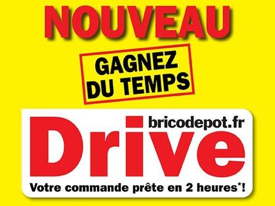 Comment fonctionne le drive Brico Dépôt ?