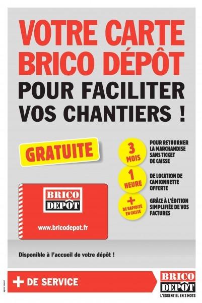 Quels sont les avantages de la carte Brico Dépôt ?