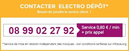Comment joindre Electro Dépôt ?